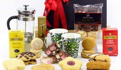 photo of corporate gift hamper
