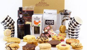 photo of gourmet gift hamper